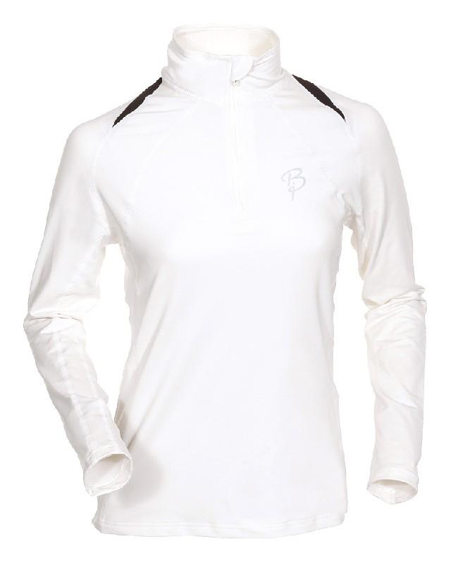 triko Bjorn Dahlie Function Lady 1/2 zip white