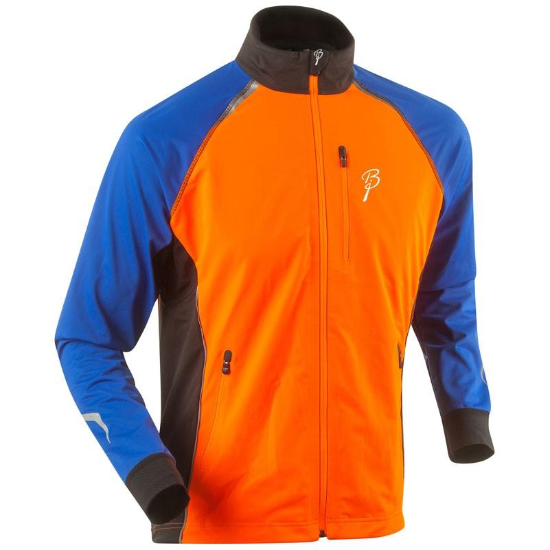 Bunda Bjorn Daehlie Champion oranžovo/modro/černá