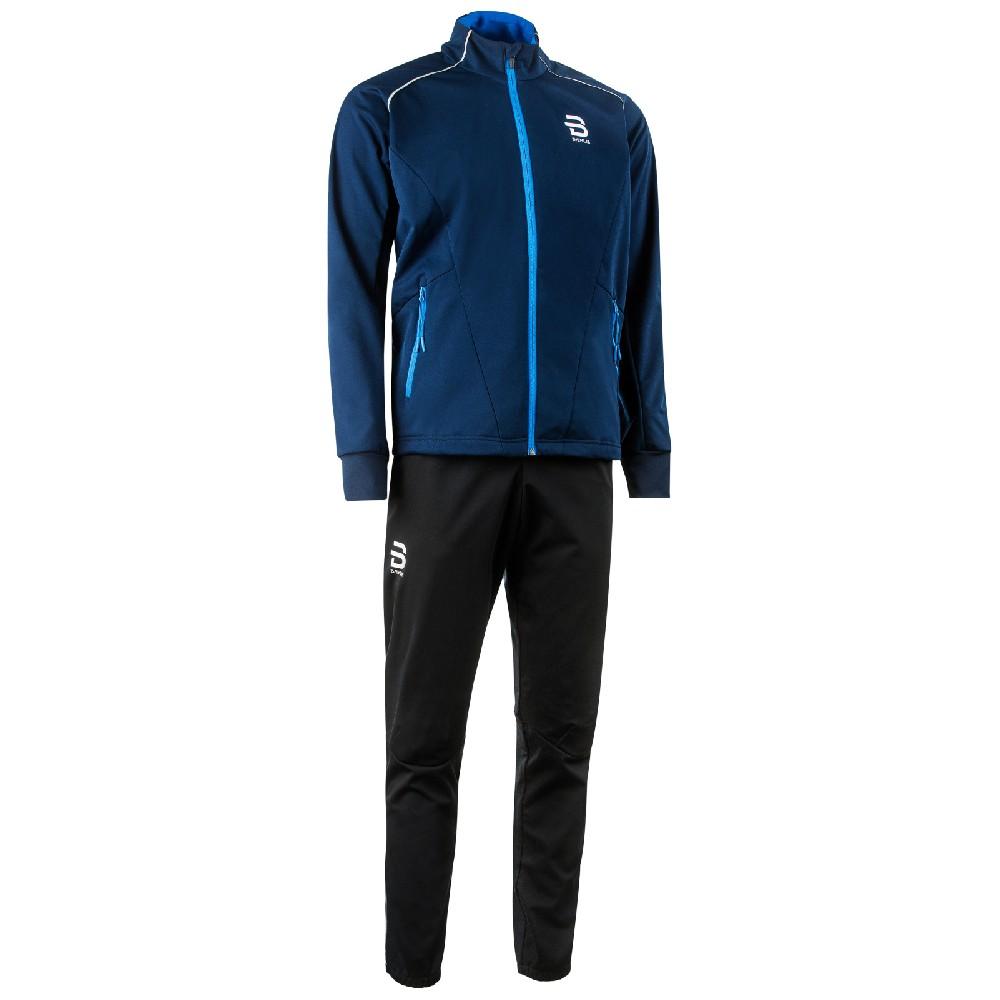 bunda+kalhoty BJ Ridge M černá/modrá 17/18