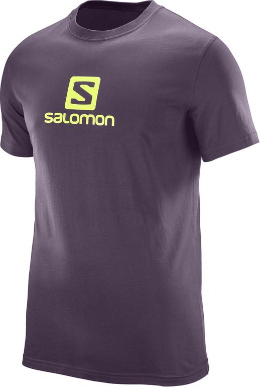 triko Salomon Coton logo SS M maverick 17/18