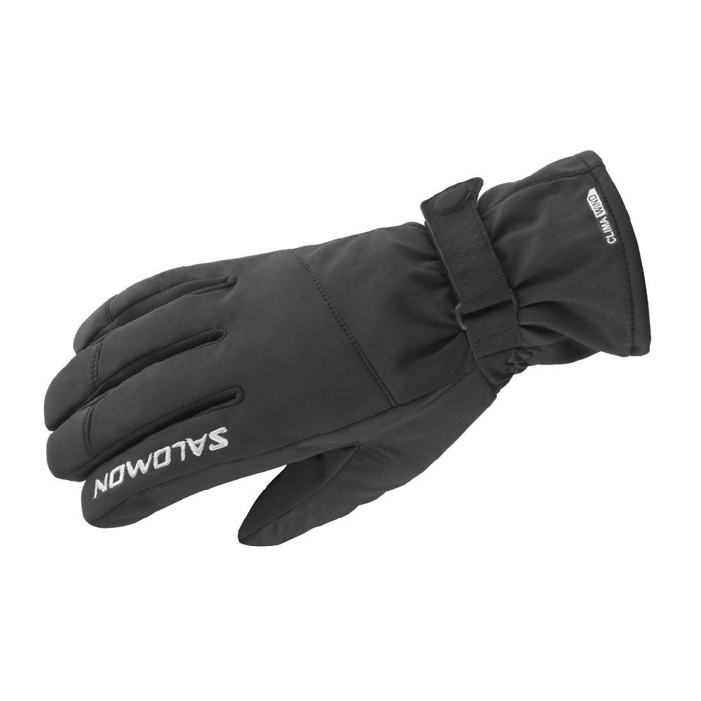 rukavice Salomon Hybrid U black 12/13