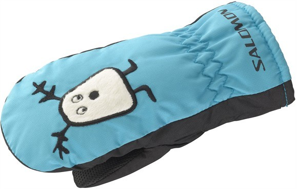 rukavice Salomon Baboo mitten junior blue/black 12/13