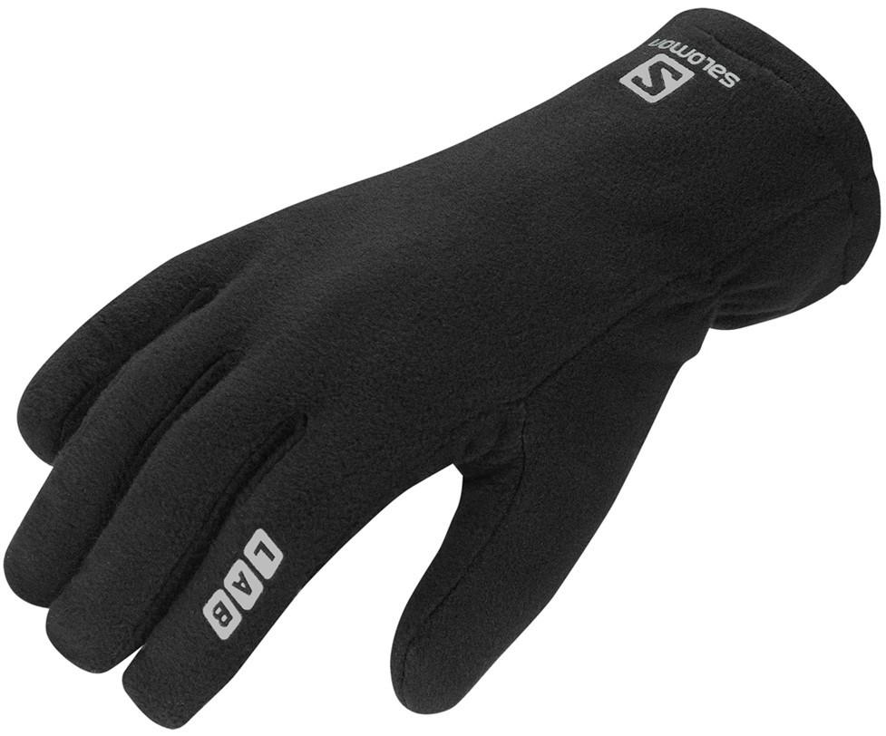 rukavice Salomon S-LAB Fleece black 13/14