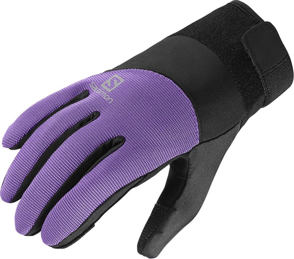 rukavice Salomon Thermo W black/violet 14/15