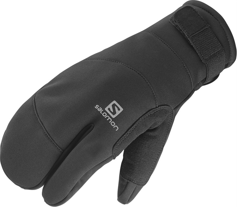 rukavice Salomon 3 Fingers M black 14/15