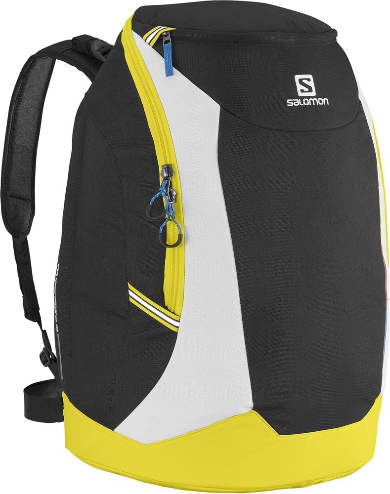 batoh Salomon GO-TO-Snow Gear Bag black/yellow/white