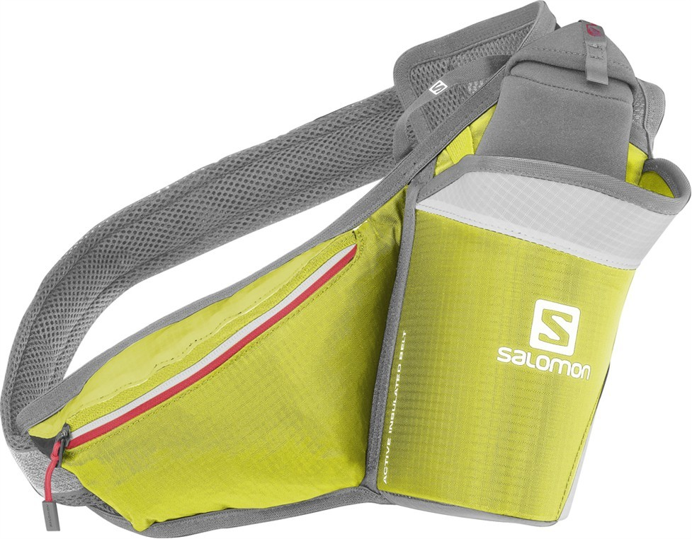 ledvinka Salomon Active Insulated belt green/red 14/15