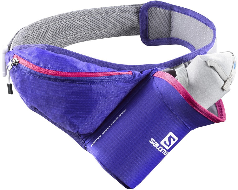 běžecká ledvinka Salomon Active Insulated belt violet 16/17