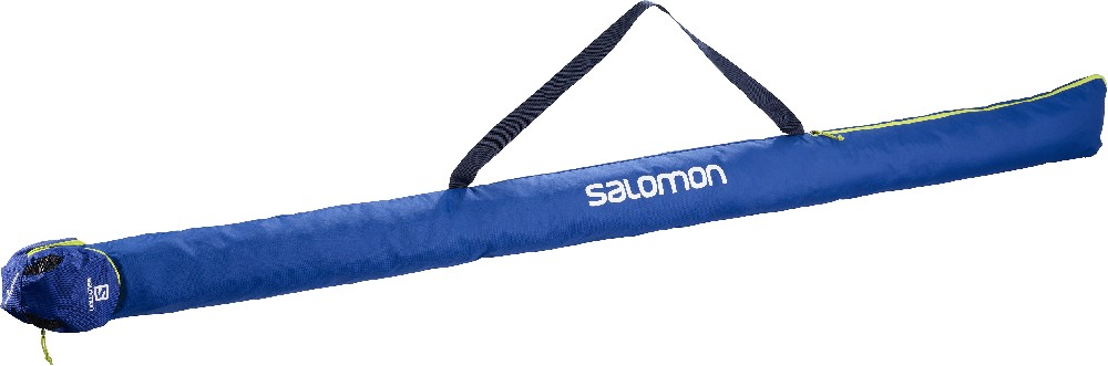 vak Salomon Nordic 1 pár 215 ski pack blue/acid lime