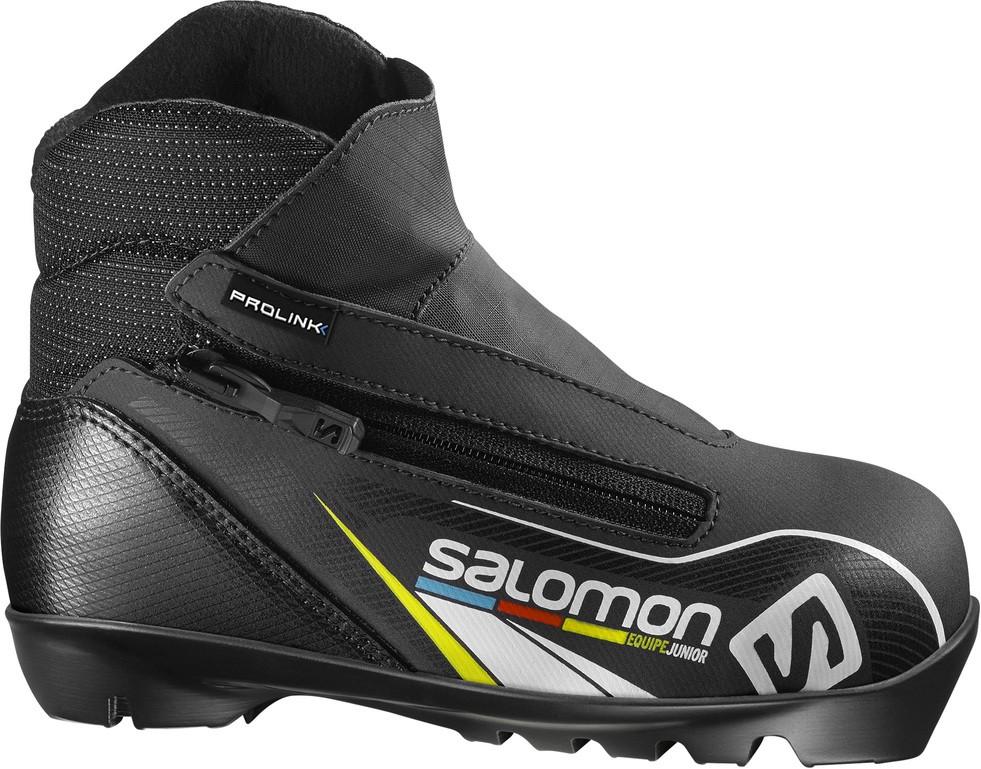 boty na běžky Salomon Equipe Junior Prolink 16/17