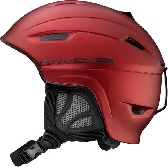 lyžařská helma Salomon Ranger red matt 10/11