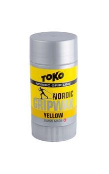 vosk TOKO Nordic Grip wax 25g žlutý 0/-2°C