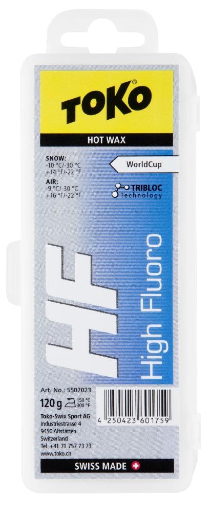 vosk TOKO HF Hot Wax 120g blue -10/-30°C