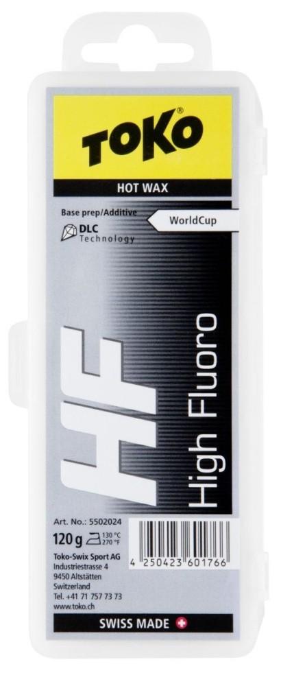 vosk TOKO HF Hot Wax 120g black