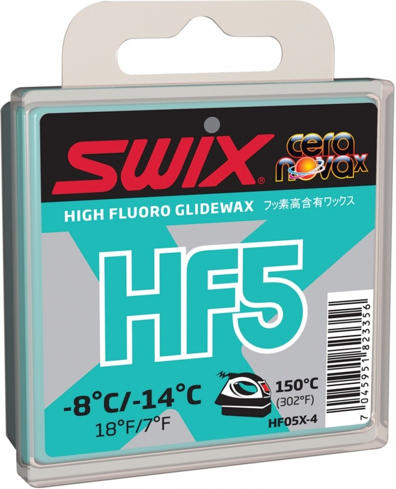 vosk SWIX HF5X 40g -8°/-14°C