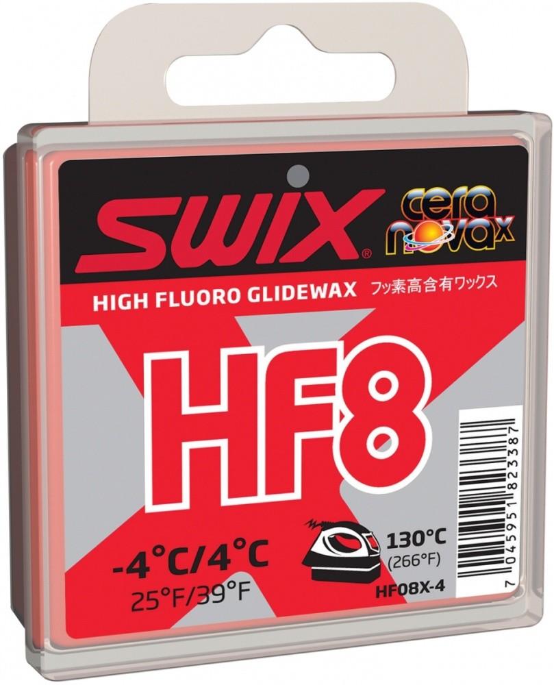 vosk SWIX HF8X 40g -4°/+4°C
